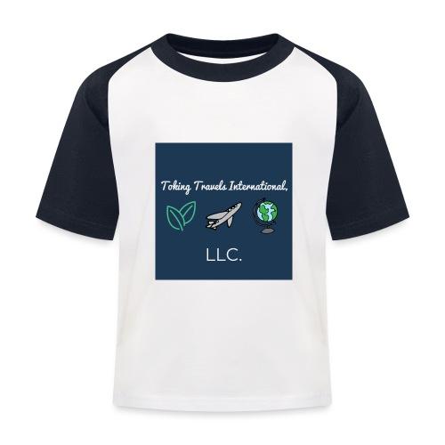 NEW Toking Travel Logo! - Kids' Baseball T-Shirt
