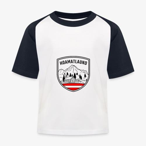 hoamatlaund logo - Kinder Baseball T-Shirt