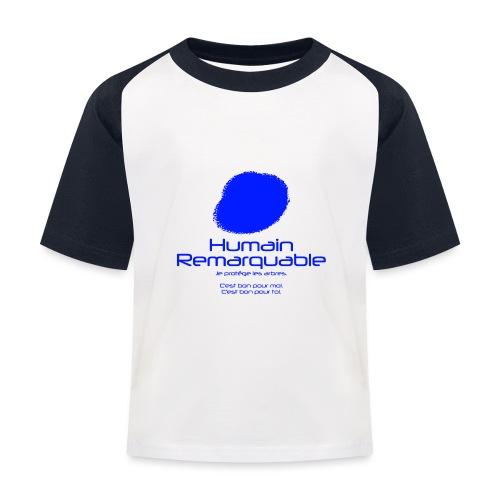 Humain Remarquable - T-shirt baseball Enfant