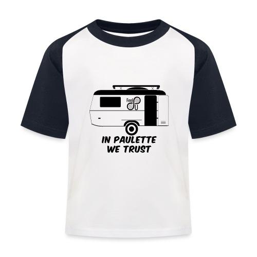 In Paulette We Trust - T-shirt baseball Enfant
