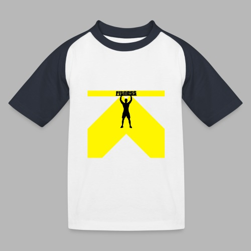 Fitness Lift - Kinder Baseball T-Shirt