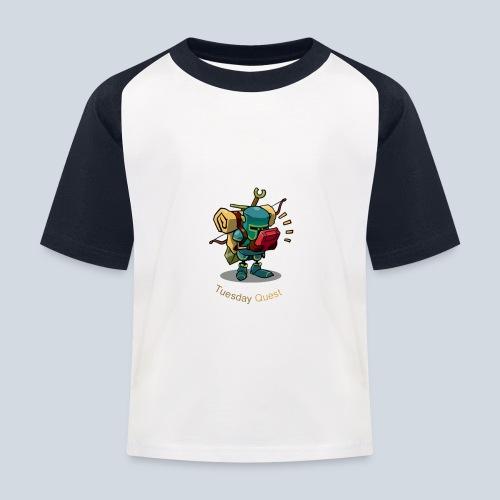 Tuesday Quest Logo - T-shirt baseball Enfant