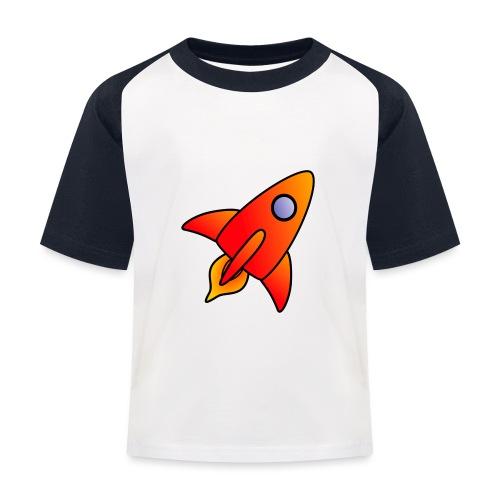 Red Rocket - Kids' Baseball T-Shirt
