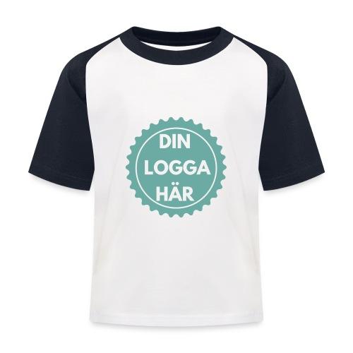 Egen Logga - Baseboll-T-shirt barn
