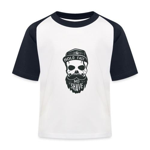 No Shave - Kinder Baseball T-Shirt