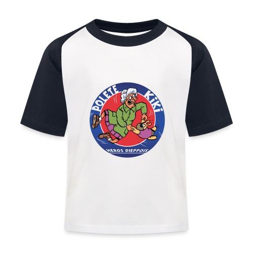 tshirt polete heros dieppois - T-shirt baseball Enfant