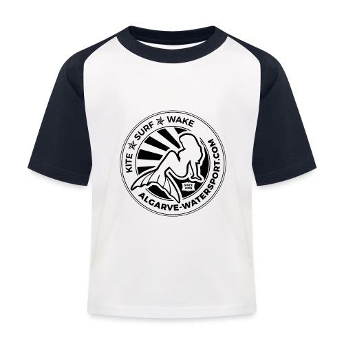 AWS mermaid round beams - Kids' Baseball T-Shirt