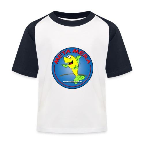 metamera_fish - Baseboll-T-shirt barn