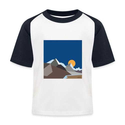 Himalayas - Kids' Baseball T-Shirt
