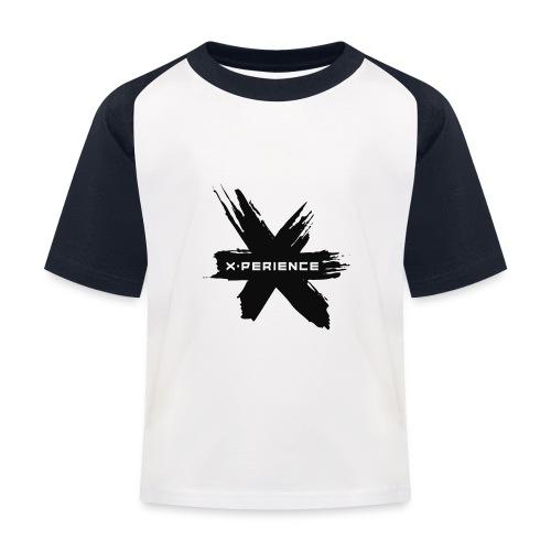 x-perience - Das neue Logo - Kinder Baseball T-Shirt