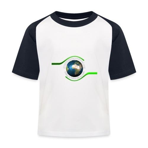 LOGO white font - Kids' Baseball T-Shirt