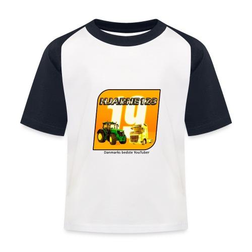 hjarne 123 danmarks bedeste youtuber - Baseball T-shirt til børn