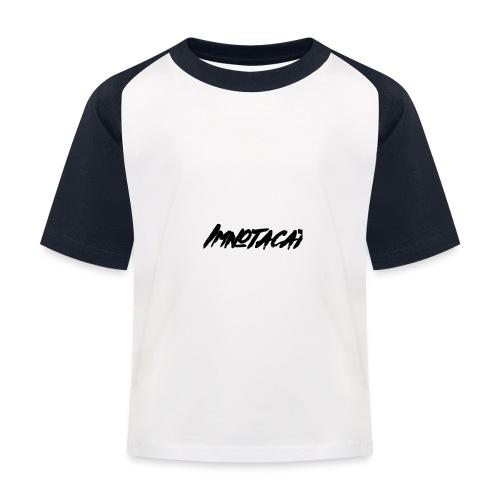 Immnotacat main design - Baseboll-T-shirt barn