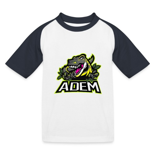ademdino - Kinder Baseball T-Shirt
