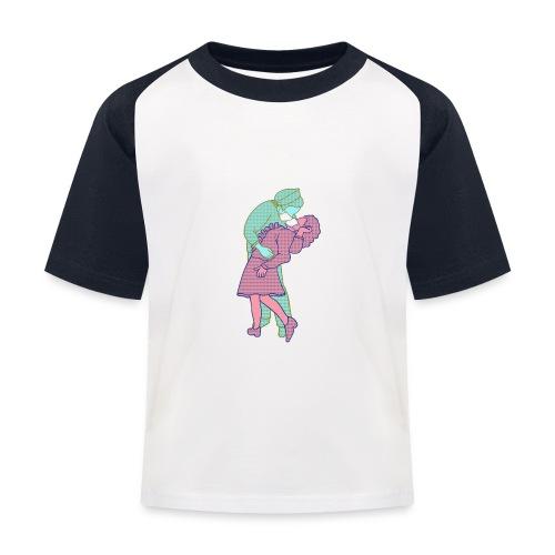 Amor coronavirus - Camiseta béisbol niño