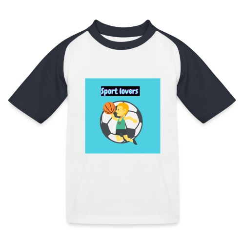 sport - Baseboll-T-shirt barn