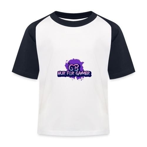 Nur für Gamer Merch - Kinder Baseball T-Shirt