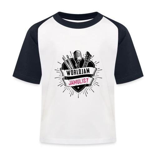 WorldJam Jamulist - Kids' Baseball T-Shirt