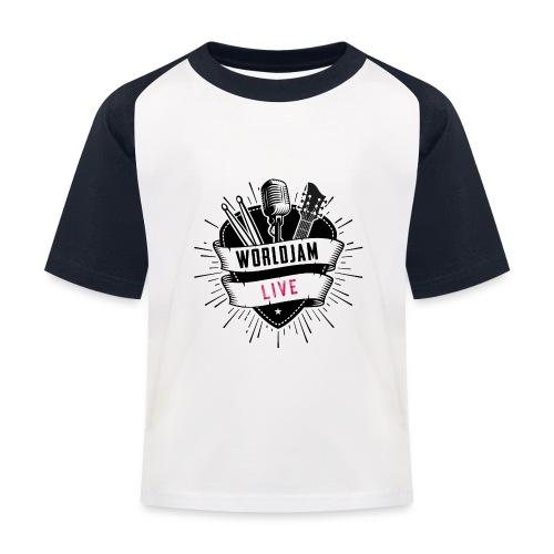 WorldJam Live - Kids' Baseball T-Shirt