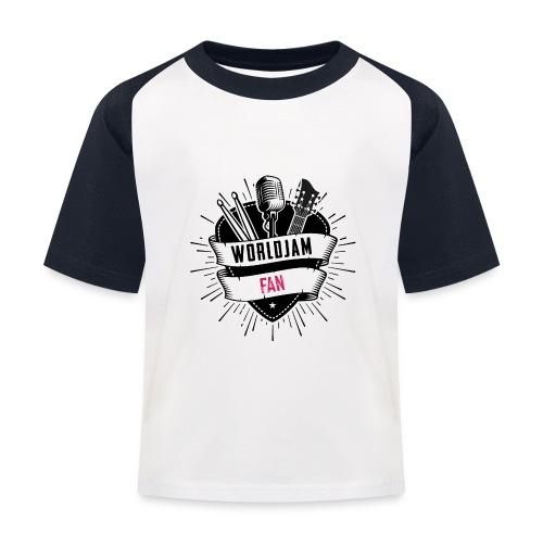 WorldJam Fan - Kids' Baseball T-Shirt
