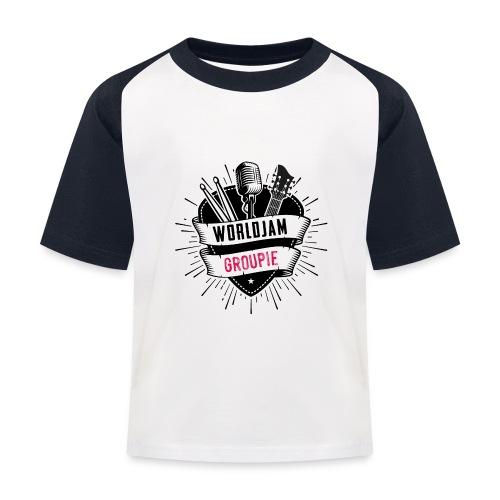 WorldJam Groupie - Kids' Baseball T-Shirt