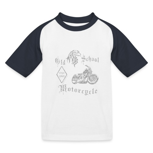 Old School MC 1968 - Kinder Baseball T-Shirt