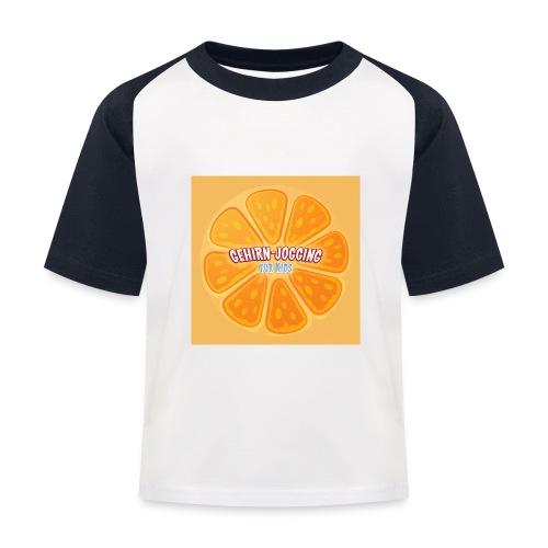 orangetextur - Kinder Baseball T-Shirt