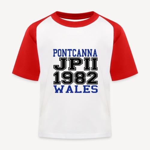 PONTCANNA 1982 - Kids' Baseball T-Shirt