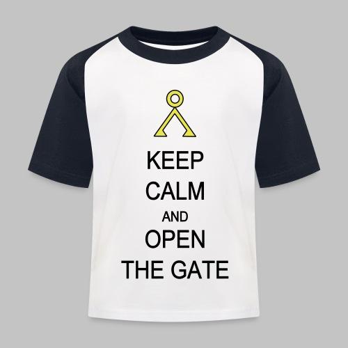 Open the Gate - Kids' Baseball T-Shirt