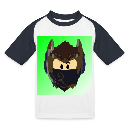 AN1MAYTRZ logo - Kids' Baseball T-Shirt