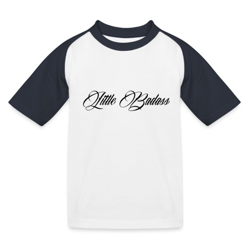 Little badass - Kinderen baseball T-shirt