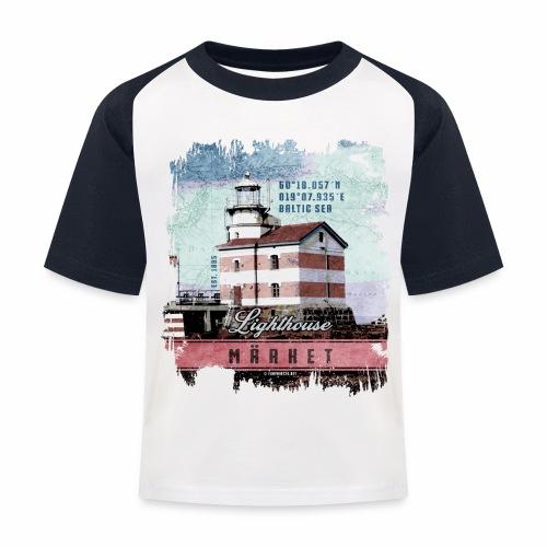 Märket majakkatuotteet, Finland Lighthouse, väri - Lasten pesäpallo  -t-paita