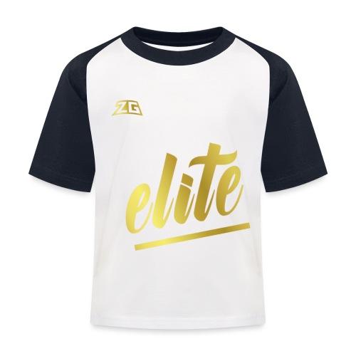 zeitloser stuff - Kinder Baseball T-Shirt