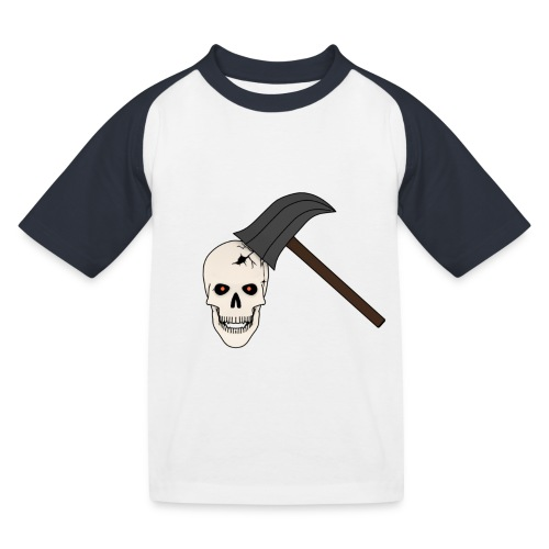 Skullcrusher - Kinder Baseball T-Shirt