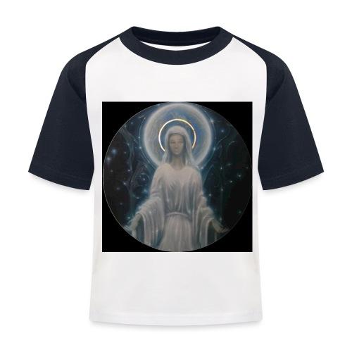 圣母玛利亚 Notre Dame by Jean Libon (Noir) - T-shirt baseball Enfant