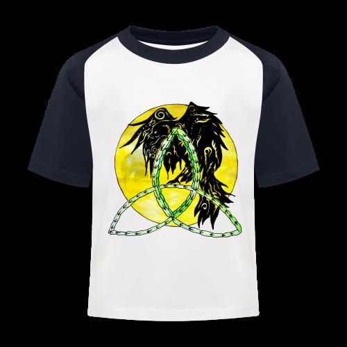 tribalrabe2 - Kinder Baseball T-Shirt