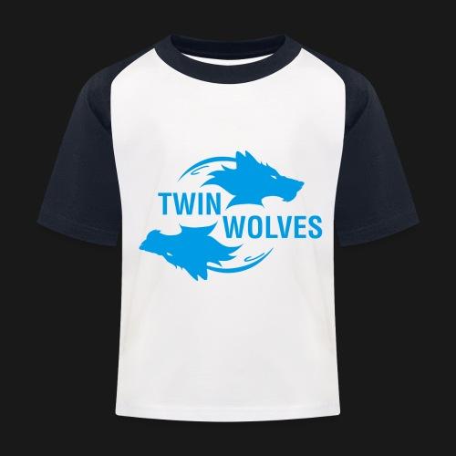 Twin Wolves Studio - Maglietta da baseball per bambini