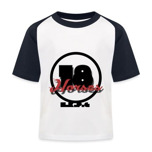 18 Horses - NKPG (Black) - Baseboll-T-shirt barn