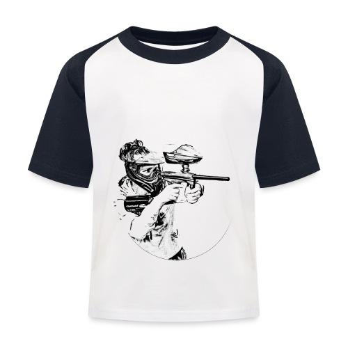 F4Y19 10 T Shirts light - Kinder Baseball T-Shirt
