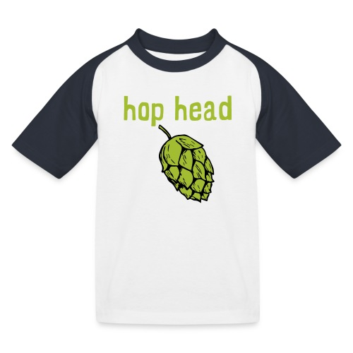 hop head - Camiseta béisbol niño