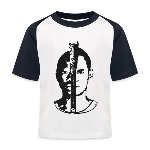 Frères - Black & white  - T-shirt baseball Enfant