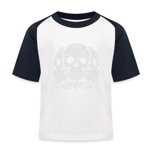 Skull Dia de los muertos - T-shirt baseball Enfant
