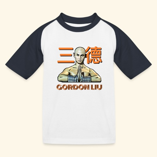 Gordon Liu - San Te - Monk (officiel) 9 prikker - Baseball T-shirt til børn