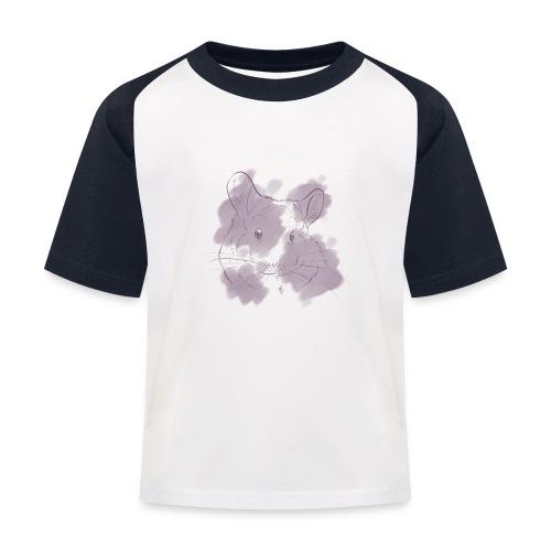 Violet splash chinchilla 2 - Lasten pesäpallo  -t-paita