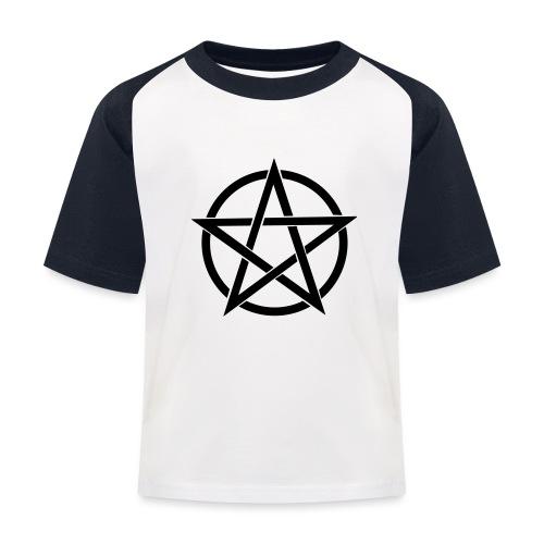 Pentagramme Wicca - T-shirt baseball Enfant