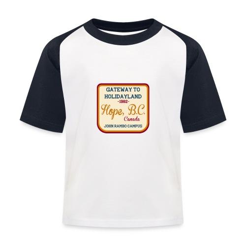 Rambo Hope Holidayland - Koszulka bejsbolowa dziecięca