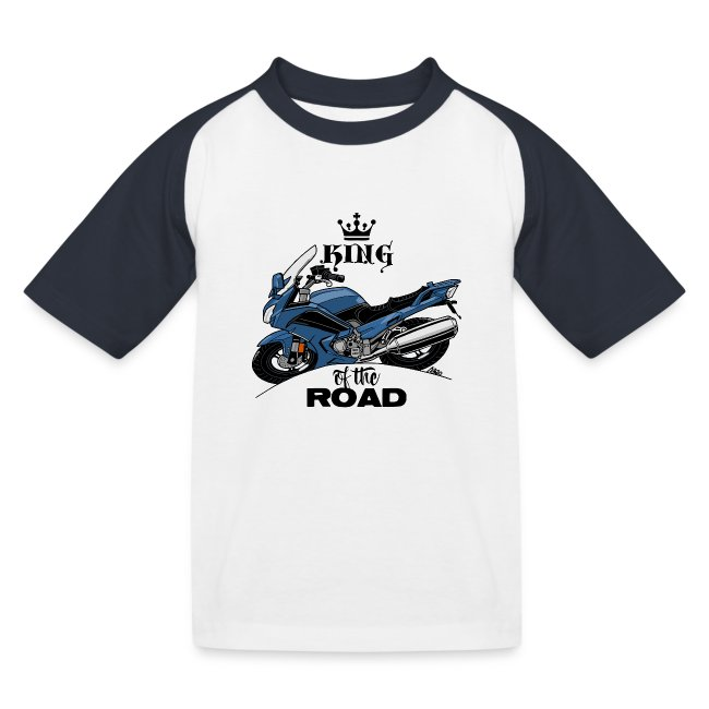 0885 FJR KING of the ROAD (blauw)