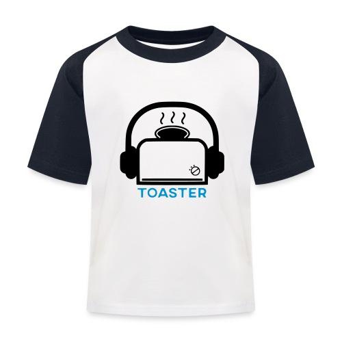 Toaster Logo - Lasten pesäpallo  -t-paita