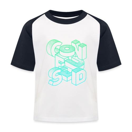 Confused - Baseboll-T-shirt barn