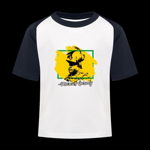 MARCUS GARVEY by Reggae-Clothing.com - Kinder Baseball T-Shirt
